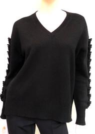 Barrie Troisieme Dimension Cashmere V-Neck Sweater