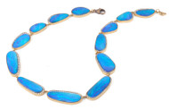 *TRUNK SHOW* Sylva & Cie. 18K Yellow Gold Opal Necklace