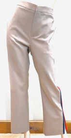 Marni Wool Tuxedo Trousers with Contrasting Trim in Light Camel