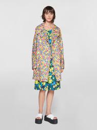 Marni Pop Garden Cotton Trench Coat
