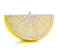 *PRE-ORDER | PRE-FALL '21* Judith Leiber Couture Lemon Slice Novelty Clutch