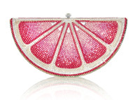 *PRE-ORDER | PRE-FALL '21* Judith Leiber Couture Pink Lemon Slice Novelty Clutch
