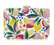 *PRE-ORDER | PRE-FALL '21* Judith Leiber Couture Slim Slide Lemonade Novelty Clutch