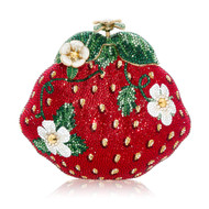 *PRE-ORDER | PRE-FALL '21* Judith Leiber Couture Strawberry Novelty Clutch