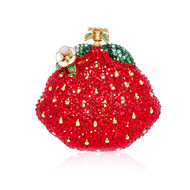 *PRE-ORDER | PRE-FALL '21* Judith Leiber Couture Strawberry Pillbox