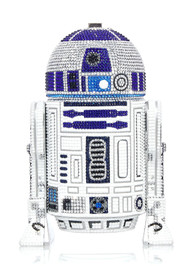 *PRE-ORDER | PRE-FALL '21* Judith Leiber Couture R2D2 Original Novelty Clutch