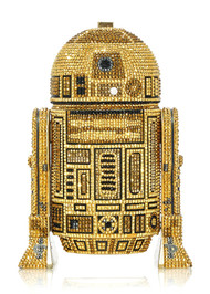 *PRE-ORDER | PRE-FALL '21* Judith Leiber Couture R2D2 Gold Novelty Clutch