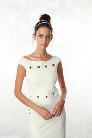 Chiara Boni La Petite Robe Fran Grommet Dress