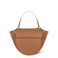Wandler Hortensia Mini Calf Leather Bag in Amber