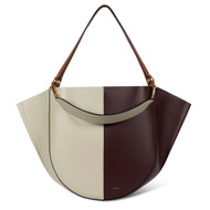 Wandler Mia Calf Leather Bag in Cactus Shades
