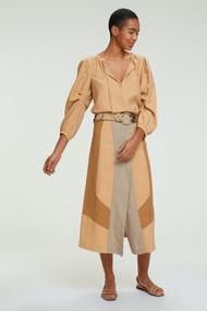 Dorothee Schumacher Summer Mix Skirt in Golden Sand