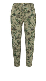 MAC Rich Cargo Cotton Pants in Light Summer Green