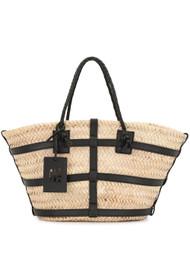 Altuzarra Small Watermill Bag in Natural/Black