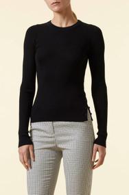 Altuzarra Iris Ribbed Sweater in Black