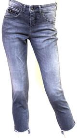 MAC Rich Slim Chic Stretch Denim Jeans in Dark Grey Fancy