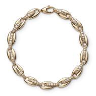 *PRE-ORDER* Melissa Kaye 18K Yellow Gold Ada Diamond Link Bracelet