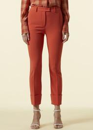 Altuzarra Kiko Cuff Pants in Cayenne