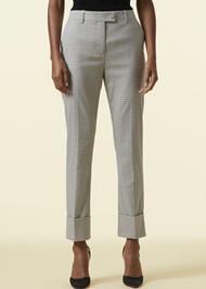 Altuzarra Kiko Cuff Pants in Ivory/Multi