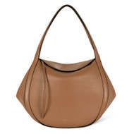 Wandler Lin Calf Leather Bag in Amber