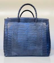 *PRE-ORDER* Nancy Gonzalez Tote Bag in Shiny Charcoal