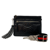 *PRE-ORDER* J.Markell Jo Crossbody Clutch Bag in Black