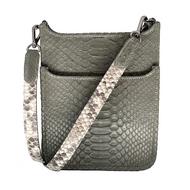 *PRE-ORDER* J.Markell Mini Asher Crossbody Bag in Grey