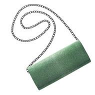 *PRE-ORDER* J.Markell Lara Stingray Clutch in Emerald