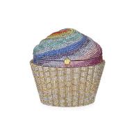 *PRE-ORDER* Judith Leiber Rainbow Cupcake Novelty Clutch