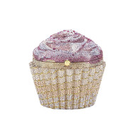 *PRE-ORDER* Judith Leiber Strawberry Cupcake Novelty Clutch