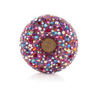 *PRE-ORDER* Judith Leiber Confetti Donut Novelty Clutch