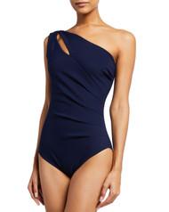 *PRE-ORDER* Chiara Boni La Petite Robe Janne One Shoulder One Piece Swimsuit