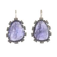 *TRUNK SHOW* Sylva & Cie. 18K White Gold Pear Shape Tanzanite Earrings