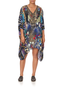 *COMING SOON* Camilla Kaftan with Button up Sleeves in Rainbow Room