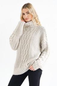 *PRE-ORDER* Hania Venia Sweater in White