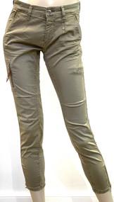 MAC Rich Cargo Cotton Pants in Windspray Beige