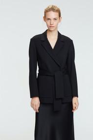 Dorothee Schumacher Emotional Essence Jacket in Pure Black