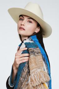 Dorothee Schumacher Into the Wild Cowboy Hat in White