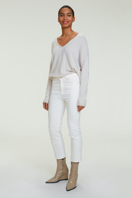 Dorothee Schumacher Denim Love Pants in Camellia White