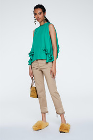 Dorothee Schumacher Sporty Coolness Pants in Light Greige