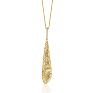 *POP UP EVENT* Luisa Rosas 18K Yellow Gold Tribe Pendant Necklace