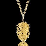 *POP UP EVENT* Luisa Rosas 18K Yellow Gold Skin Aurea Pendant Necklace with Diamonds