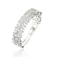 *POP UP EVENT* Luisa Rosas 18K White Gold Small Be Bracelet with Diamonds