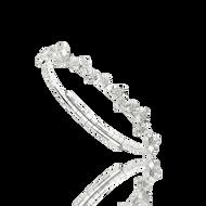 *POP UP EVENT* Luisa Rosas 18K White Gold Small Be Spiral Bracelet
