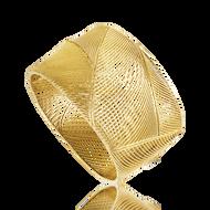 *POP UP EVENT* Luisa Rosas 18K Yellow Gold Large Tribe Bracelet
