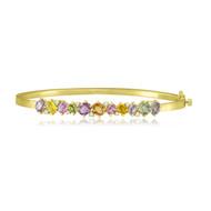 *POP UP EVENT* Sutra 18K Yellow Gold Multi Sapphire and Diamond Bracelet