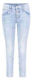 MAC Dream Slim Denim Jeans in Authentic Random Bleached