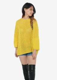 Hania Vivi Boatneck Sweater in Corona