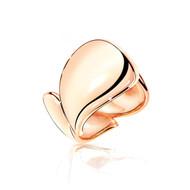 Tamara Comolli 18K Rose Gold Signature Wave Ring