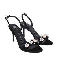 Giuseppe Zanotti Mistico Crystal Floral Sandal