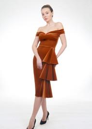 *FALL/WINTER 2021 TRUNK SHOW* Chiara Boni La Petite Robe Willa Short Velvet Dress